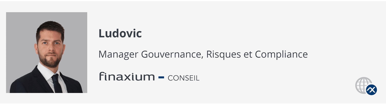 Ludovic Mounoussamy Manager conseil en finance et conformité chez Finaxium